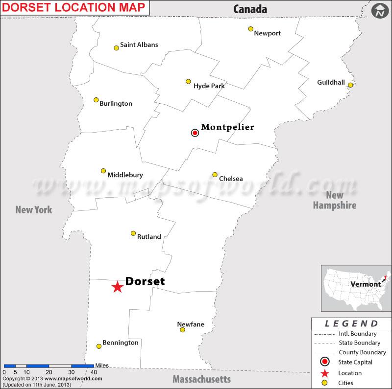 Where Is Dorset Vermont