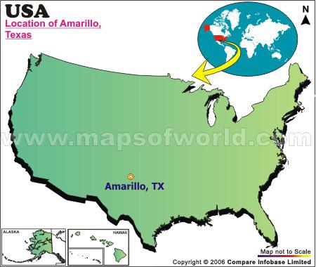 Where is Amarillo , Texas