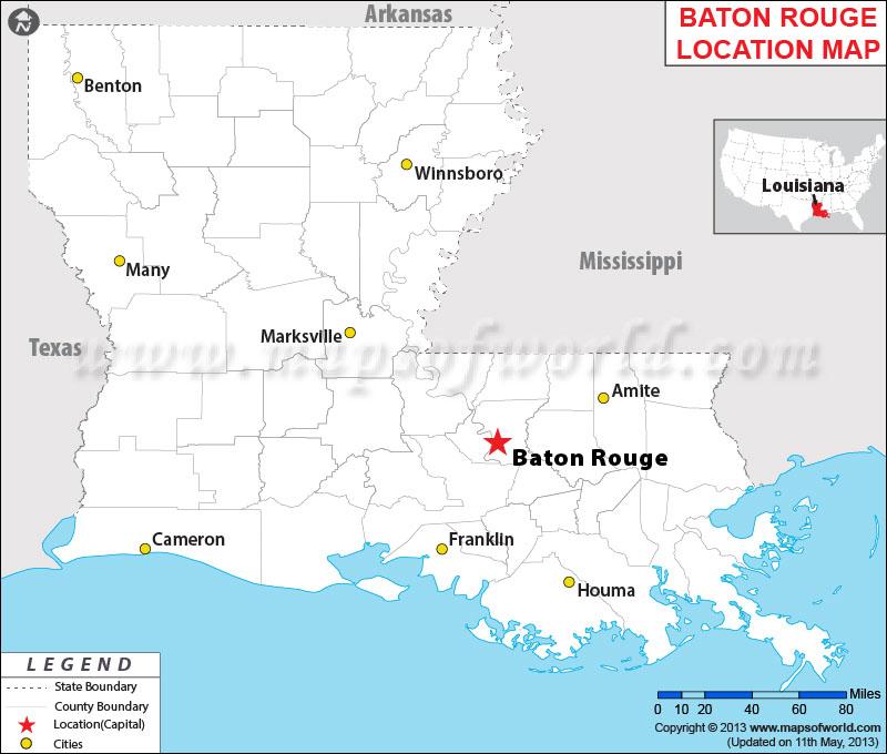 Where Is Baton Rouge Louisiana