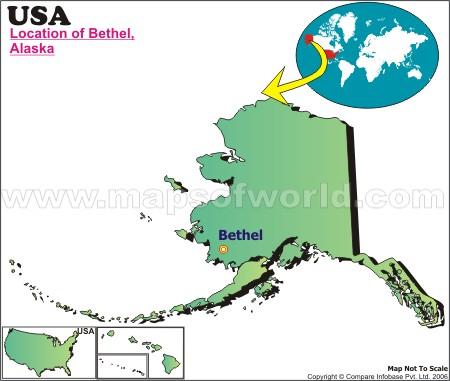 Where is Bethel , Alaska