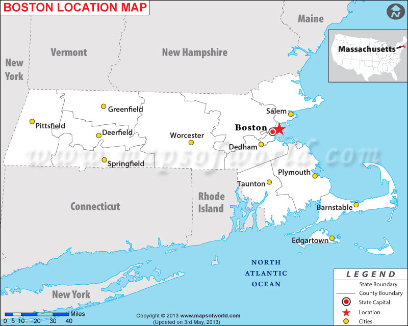 Where is Boston, Massachusetts