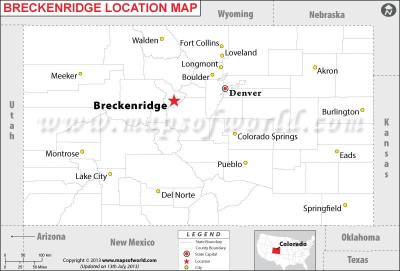Durango Colorado Usa Map 10
