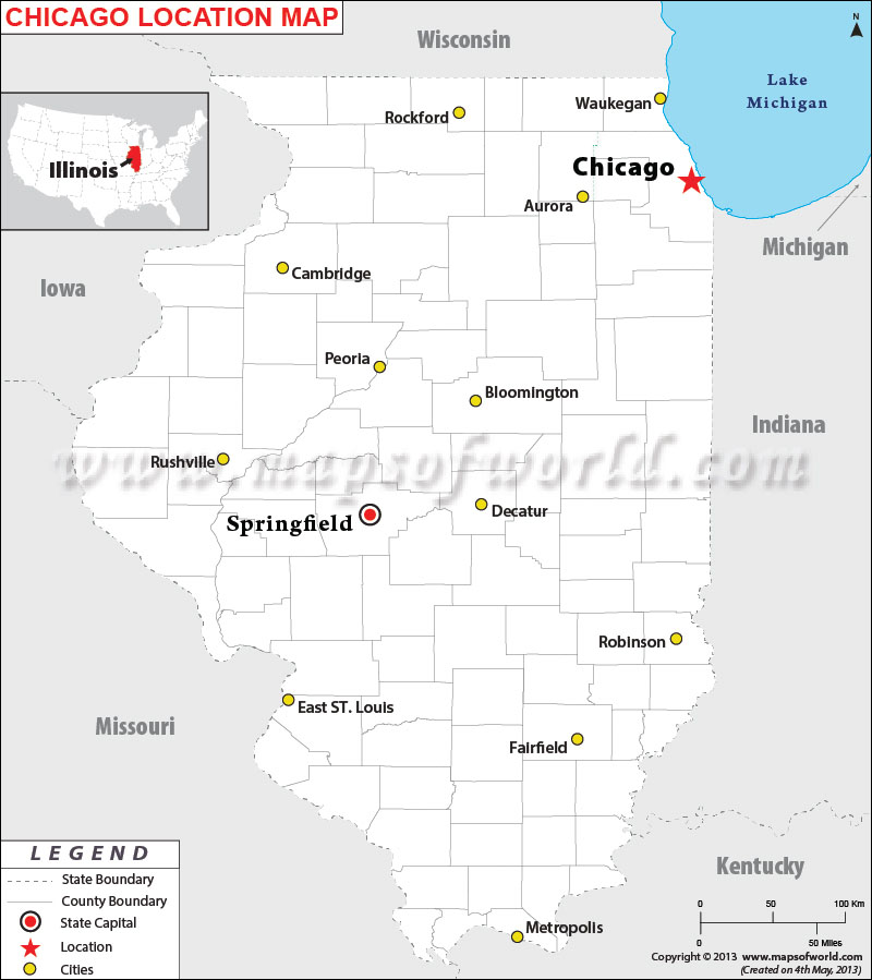 Where is Chicago Heights, Illinois