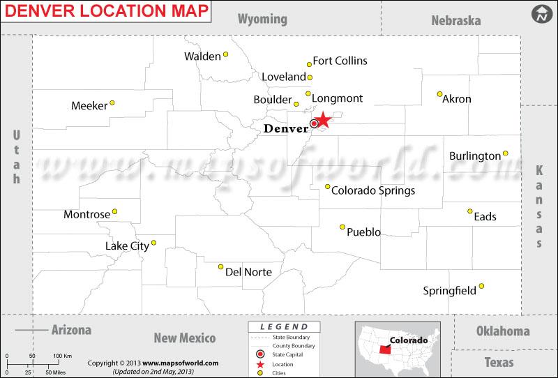 Where is Denver, Colorado