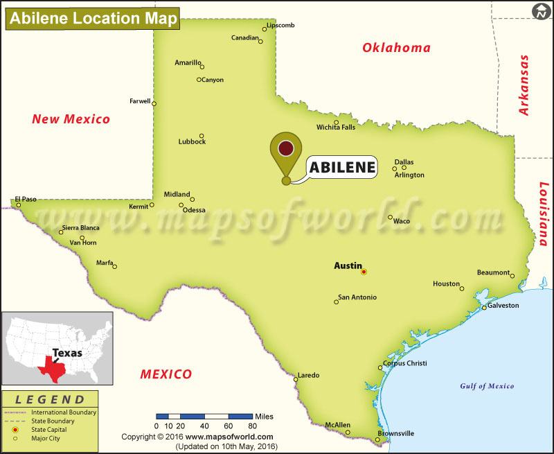 Where is Abilene , Texas