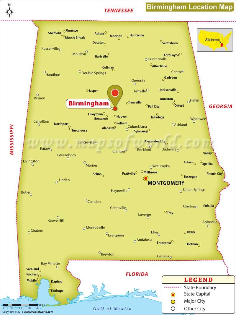 Where Is Birmingham Alabama