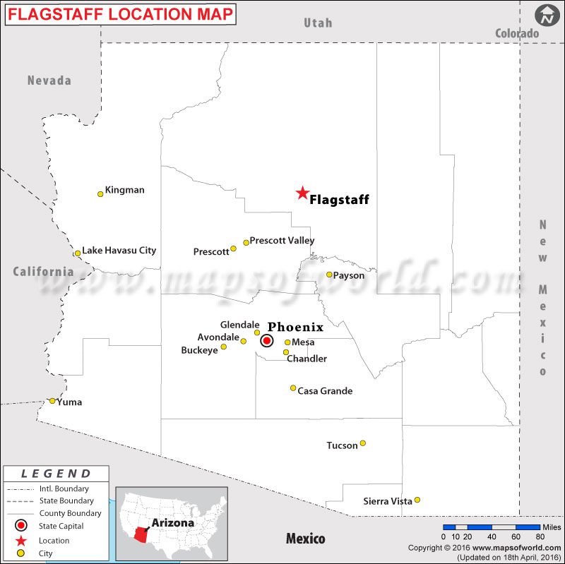 Where is Flagstaff , Arizona