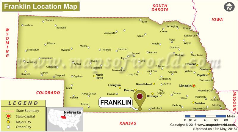 Where is Franklin, Nebraska