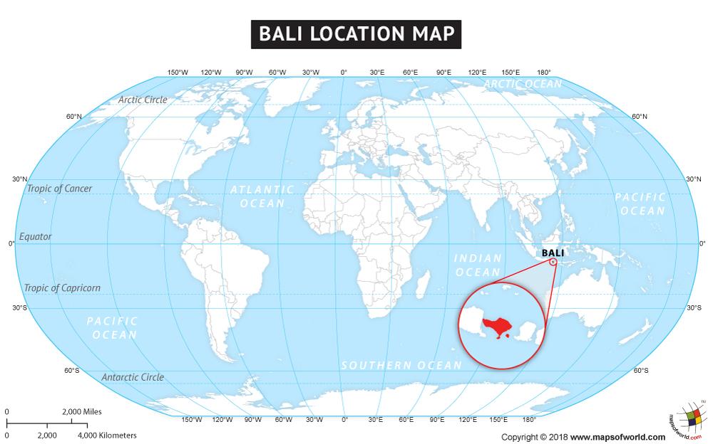 Where Is Bali On World Map Car Interior Design