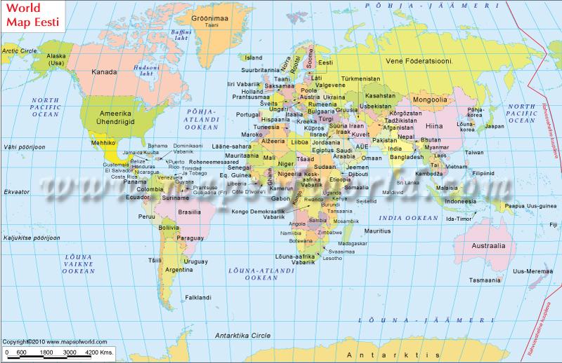 Maailmakaardil