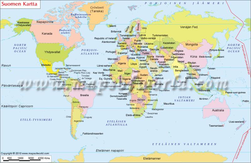 Maailman Kartta