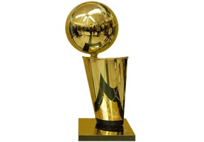 The Larry O'Brien Trophy | Sports Trophies of the World