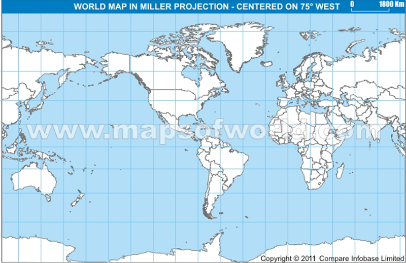 world map asia centric. World America Centric Map in
