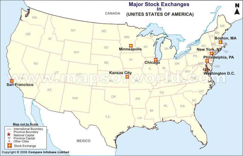 Map Of Usa Showing Chicago