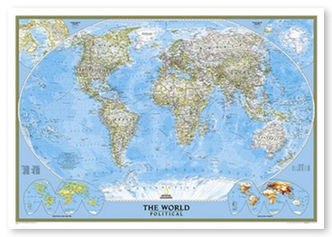 Classic Map - Detailed World Map