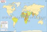 World Illiteracy Map
