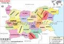 Bulgaria Political Map