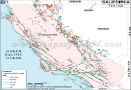 California fault lines map