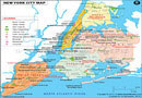 New York City (NYC) Map