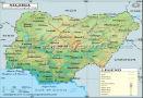Nigeria Latitude and Longitude Map