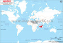UAE Location Map