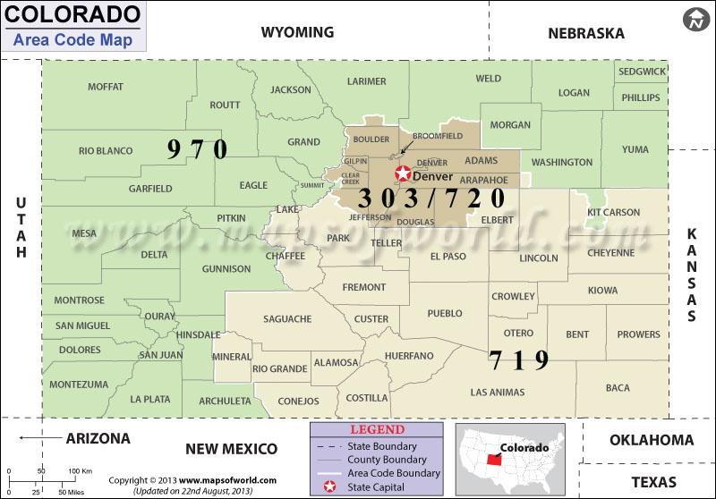Colorado Springs Zip Code Map | Search Results