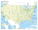 USA Area Code Maps