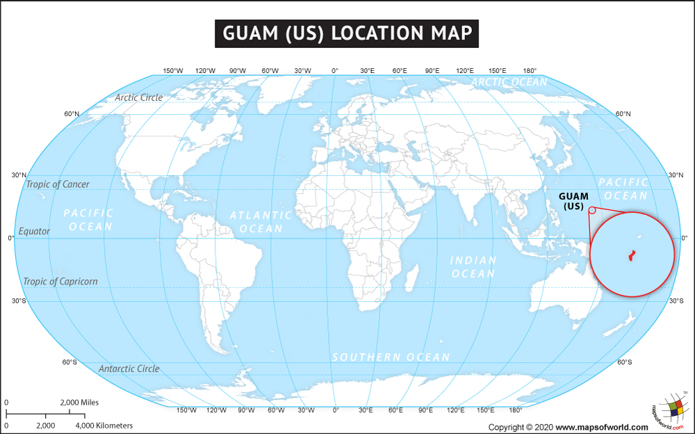 Where is Guam