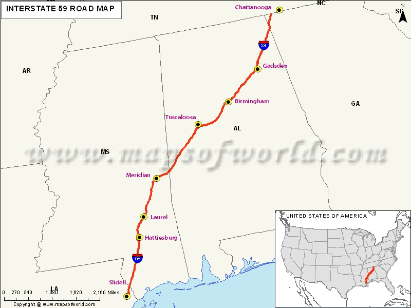 usa highway map with states and cities html with Interstate59 Map on New York Road Map likewise Interstate74 Map together with North Carolina Map likewise Connecticut Map moreover Us Route 30 Map.