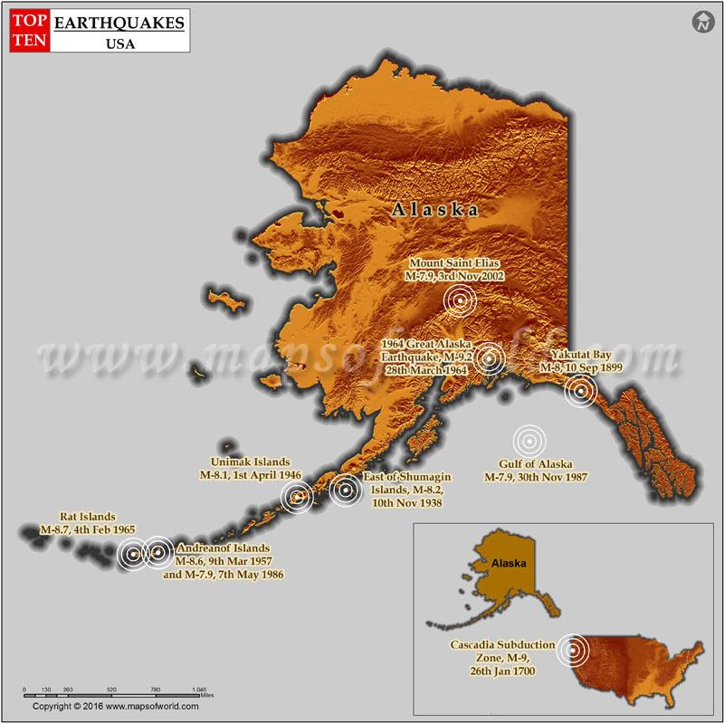 5 Most Dangerous U.S. Earthquake Hot Spots Beyond ...