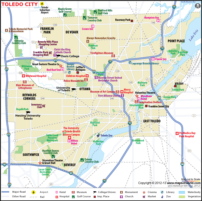 Map Of Ohio Cities – Ohio Tourist Attractions Map