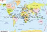 World Map in Flipino