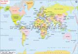 World Map in Swahili