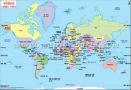 World Map in Hindi